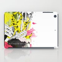 howl iPad Cases featuring Howl  by Stephanie Trevania