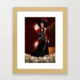 Calipso 1 Framed Art Print