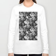Through The Flowers // Floral Collage Long Sleeve T-shirt