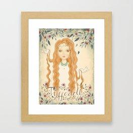 Queen Jodha Framed Art Print