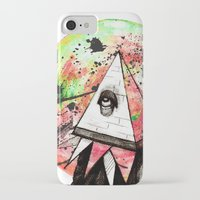 sandman iPhone & iPod Cases featuring Sandman by Logan David