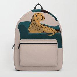 Cheetahs fashion girl woman Cheetahs Backpack