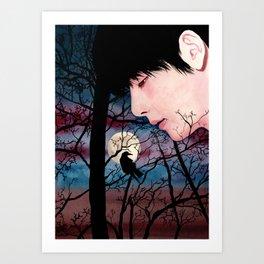 BTS V taehyung Art Print