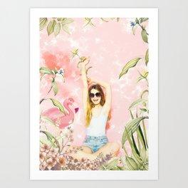 The Beauty 1 Art Print