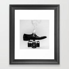 Hot Shoe Framed Art Print