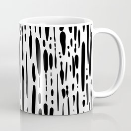 Ice Melt Black and White Coffee Mug