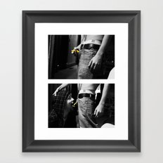 The Dinky Made of Clay.  Framed Art Print