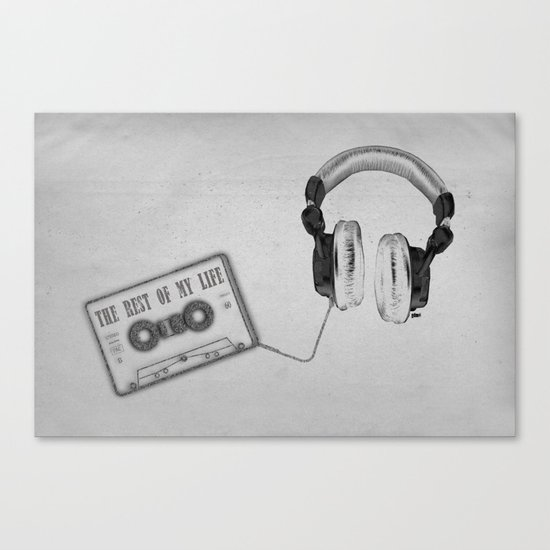 Music, please! Canvas Print