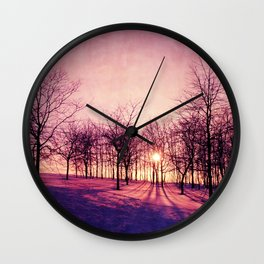 Before The Night Wall Clock