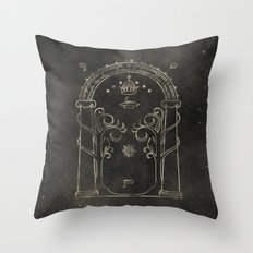 Lord of the Rings: Gates of Moria Throw Pillow