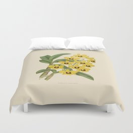 Dendrobium Suavissimum Duvet Cover