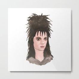Lydia Deetz Metal Print