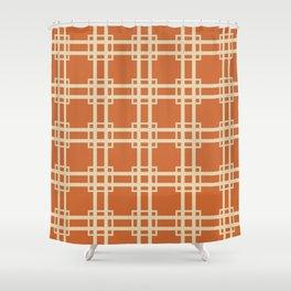 Zest Spice Moods Lattice Shower Curtain