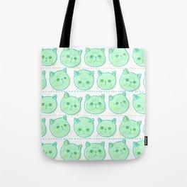 Exotic shorthair cat pattern Tote Bag