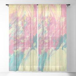 Abstract 2485 Sheer Curtain