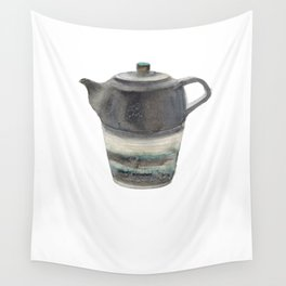 Japanese Teapot Wall Tapestry