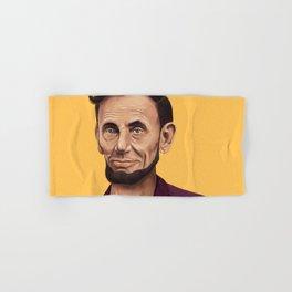 Hipstory -  Abraham Lincoln Hand & Bath Towel