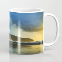 Cape Lookout Thunderstorm at Sunset Coffee Mug
