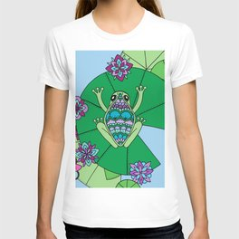 Frog and Lily Pads T-shirt