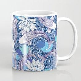 Blue Koi Ripples Coffee Mug