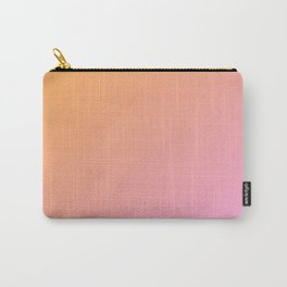Orange, pink Ombre. Carry-All Pouch