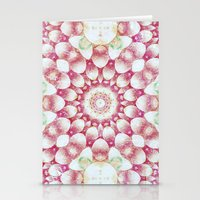 pomegranate Stationery Cards featuring Pomegranate by Truly Juel