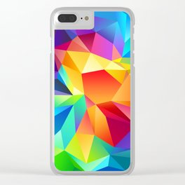 painting design cristal Clear iPhone Case
