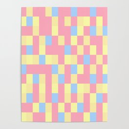 Colours Mozaik Colours Poster