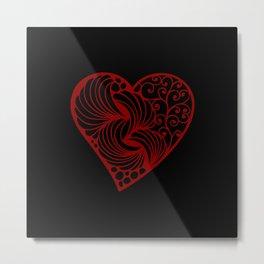 Hearts Against Hate 096 Metal Print