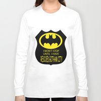 gotham Long Sleeve T-shirts featuring Gotham City by Veronica Ventress