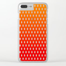 Fall Dragon Scales Clear iPhone Case