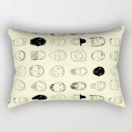 beards Rectangular Pillow