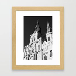 St. Louis Cathedral - New Orleans Framed Art Print