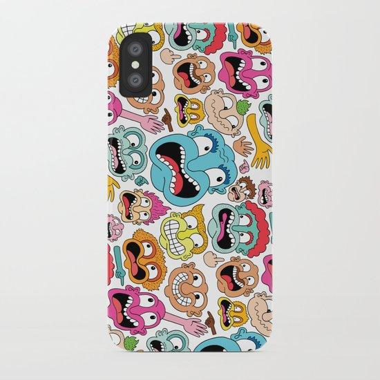 Weird Faces iPhone Case