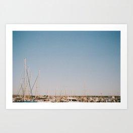 Harbour Peak Art Print