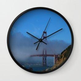 Golden Gate Brigde Wall Clock