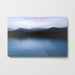 Cold Water - 80/365 nature lake photography Metal Print