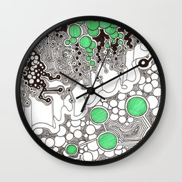 Circle World Wall Clock