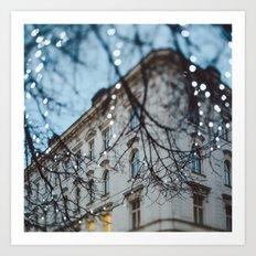 Vienna. Art Print
