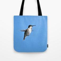 Juvenile Ruby-Throated Hummingbird Tote Bag