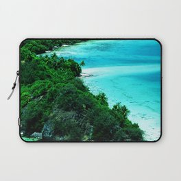 Tahiti Motu (Island) in French Polynesia Laptop Sleeve