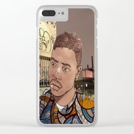 Caine Baee Clear iPhone Case