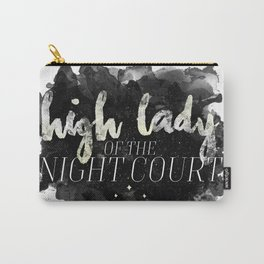 ACOTAR -- High Lady of the Night Court Carry-All Pouch