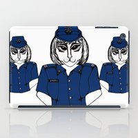 police iPad Cases featuring Police Kitty by Sofy Rahman