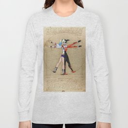 Vitruvian Harley Long Sleeve T-shirt