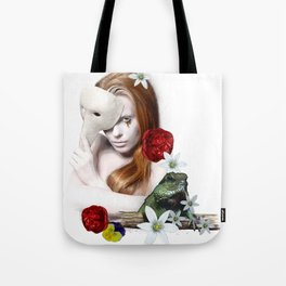 Surreal portrait. Tote Bag