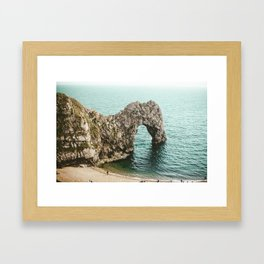 Durdle Door Framed Art Print