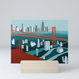 Crystal City Mini Art Print