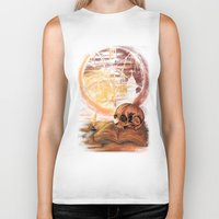 philosophy Biker Tanks featuring Philosophy by Cycoblast Artwork