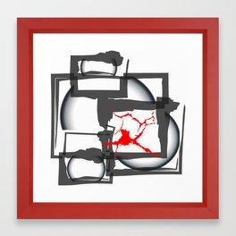 REGRETS Framed Art Print